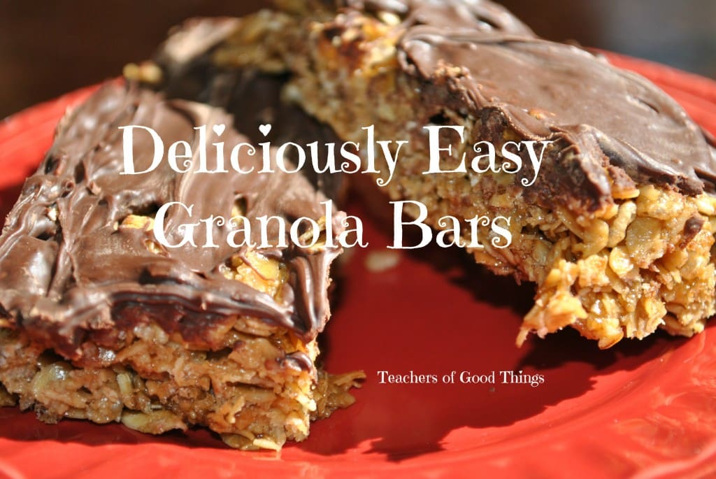 Deliciously Easy Granola Bars