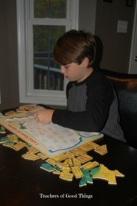 Tips on using puzzles for teaching geography