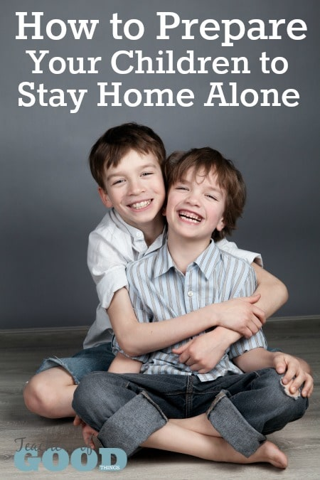 How To Prepare Your Children to Stay Home Alone