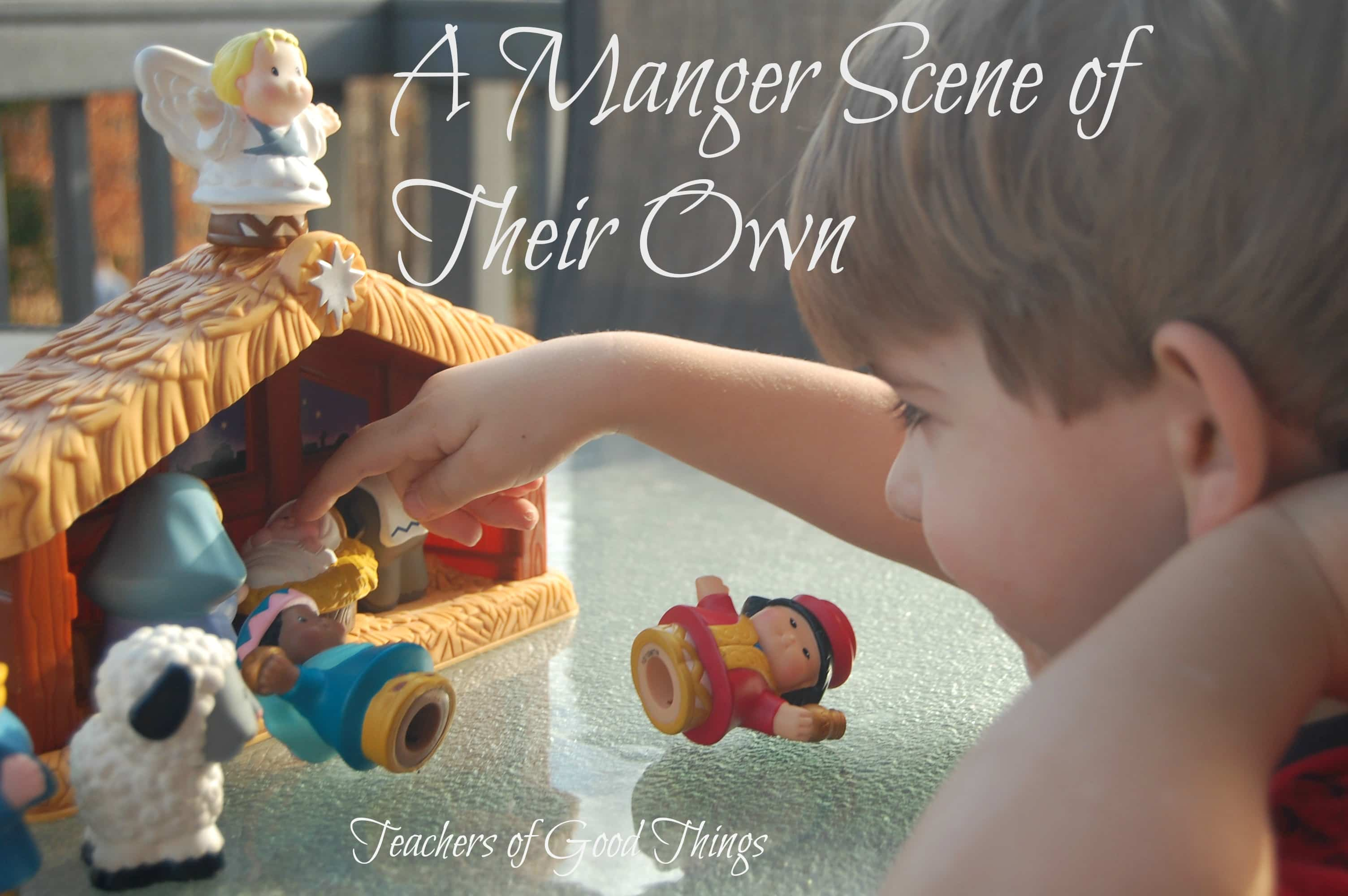 A Manger Scene of Their Own