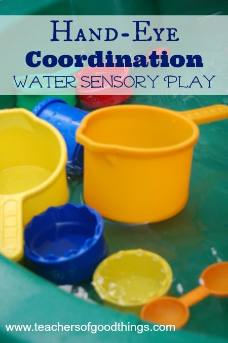 Hand-Eye Coordination Water Sensory Play