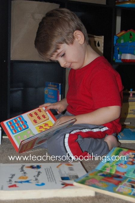 Why Book Time is Important for Toddlers & Preschoolers www.joyinthehome.com