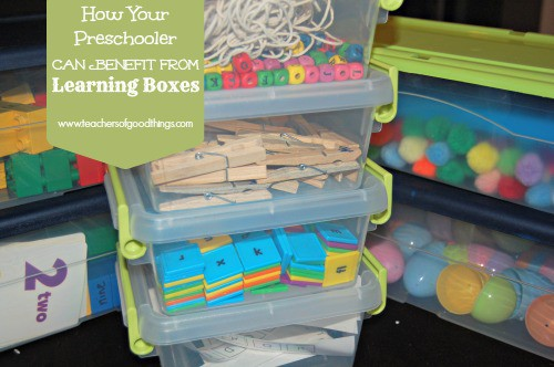 How Your Preschooler Can Benefit from Learning Boxes