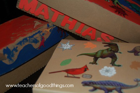 Nature Boxes | How to Keep Your Nature Finds www.joyinthehome.com