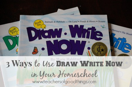 3 Ways to Use Draw Write Now in Your Homeschool