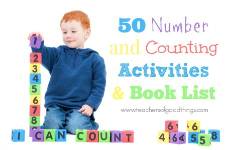 50 Number and Counting Activities & Book List www.joyinthehome.com.jpg
