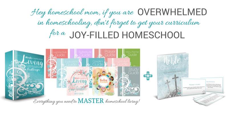 Master Homeschool Living Course & Bonus | www.joyinthehome.com