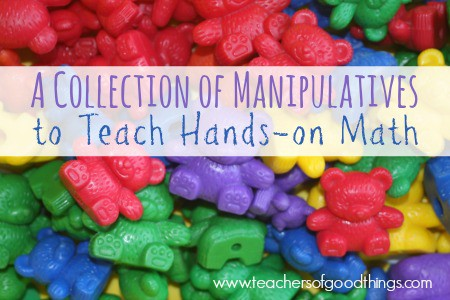 A Collection of Manipulatives for Teaching Hands-on Math