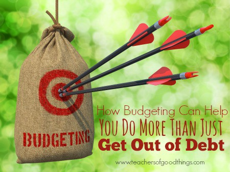 How Budgeting Can Help You Do More Than Get Out of Debt | www.joyinthehome.com