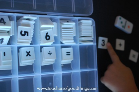 Teaching addition with dominoes | www.joyinthehome.com
