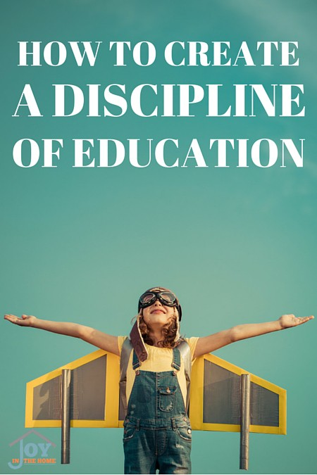 How to Create a Discipline of Education