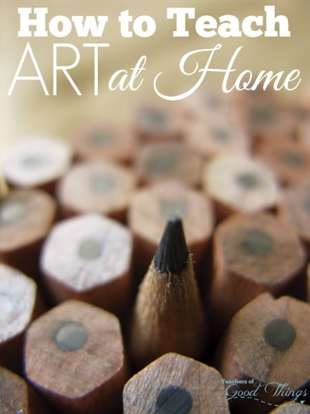 How to Teach Art at Home