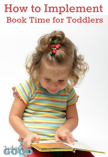 How to Implement Book Time for Toddlers