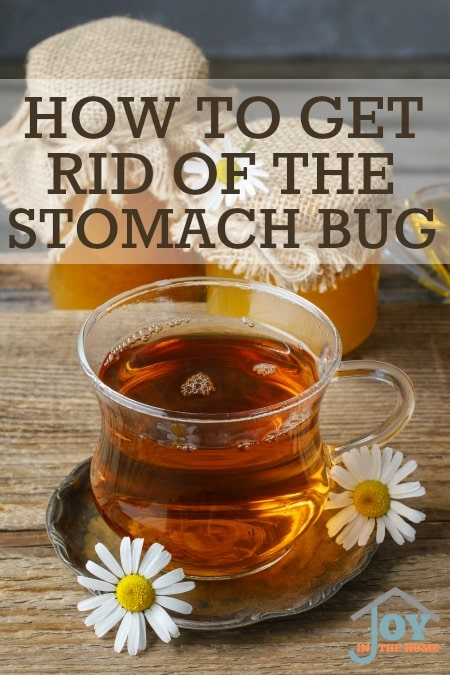 How to Get Rid of the Stomach Bug