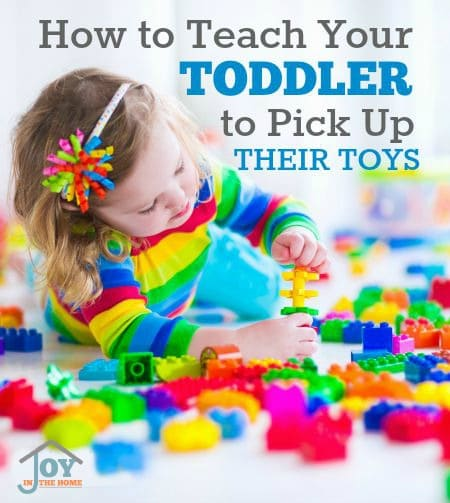 How to Teach Your Toddler to Pick Up Their Toys