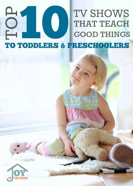 Top 10 TV Shows that Teach 'Good Things' to Toddlers & Preschoolers