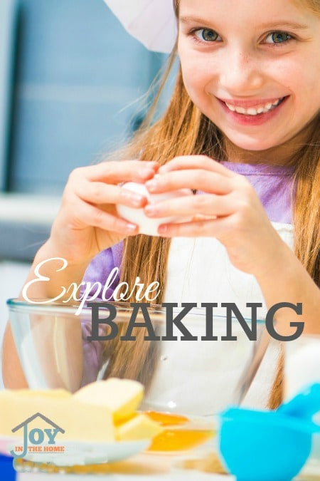 Explore Baking - Part of the 31 Days of Exploring Free Afternoon Activities | www.joyinthehome.com
