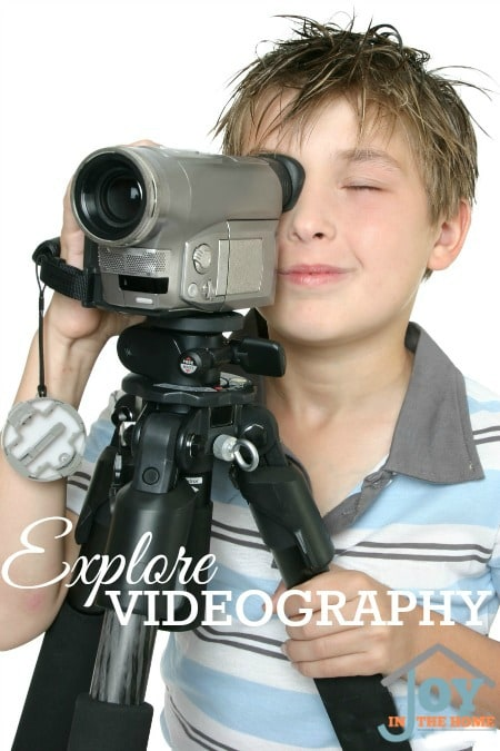 Explore Videography - Part of the 31 Days of Exploring Free Afternoon Activities | www.joyinthehome.com
