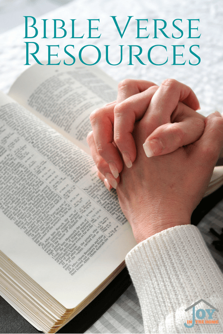 Bible Verse Resources