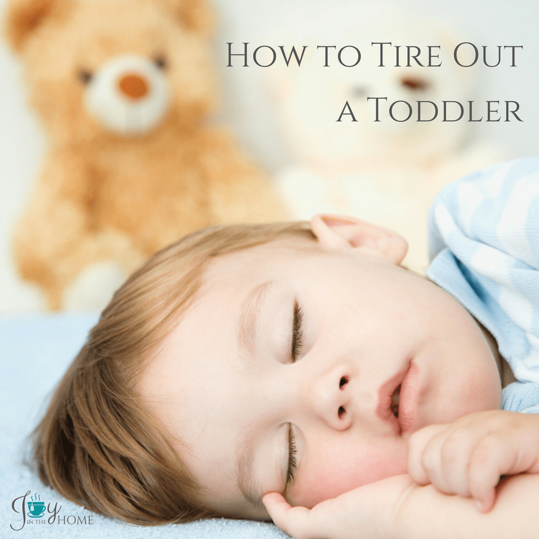 How to Tire Out a Toddler