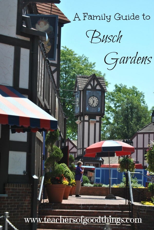 A Family Guide to Busch Gardens www.joyinthehome.com