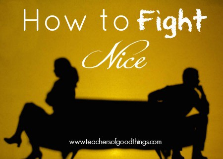 How to Fight Nice