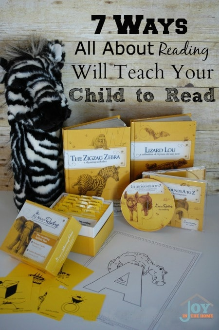 7 Ways All About Reading Will Teach Your Child to Read www.joyinthehome.com