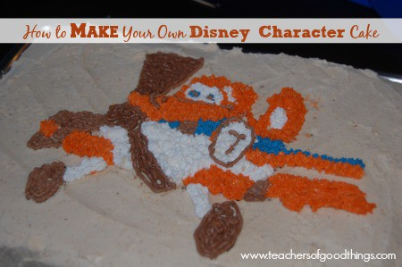 How to Make Your Own Disney Character Cake www.joyinthehome.com
