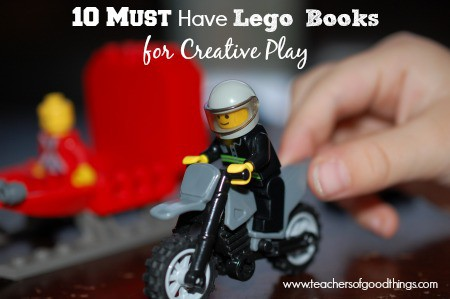 10 Must Have Lego Books for Creative Play