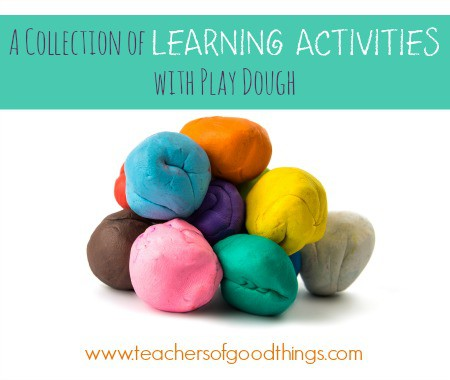 A Collection of Learning Activities with Play Dough