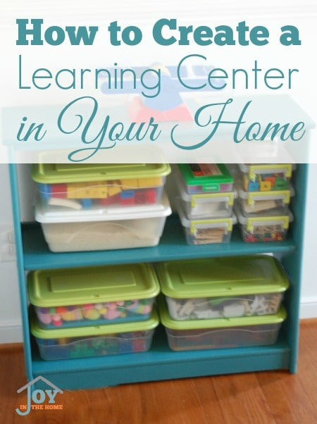 How to Create a Learning Center in Your Home