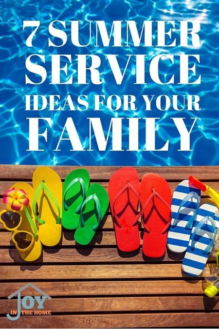 7 Summer Service Ideas for Your Family