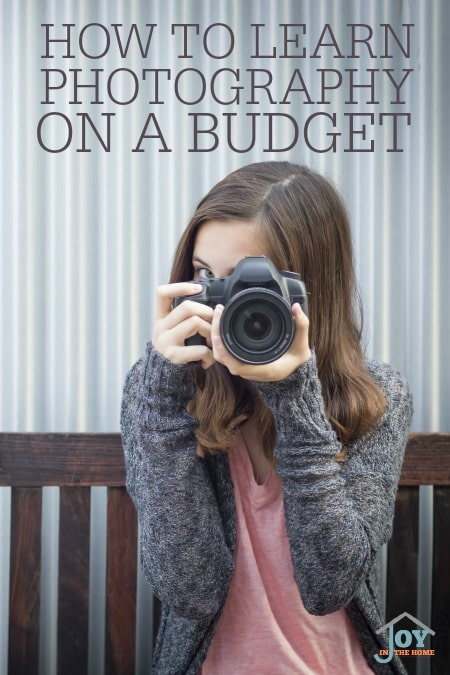How to Learn Photography On a Budget