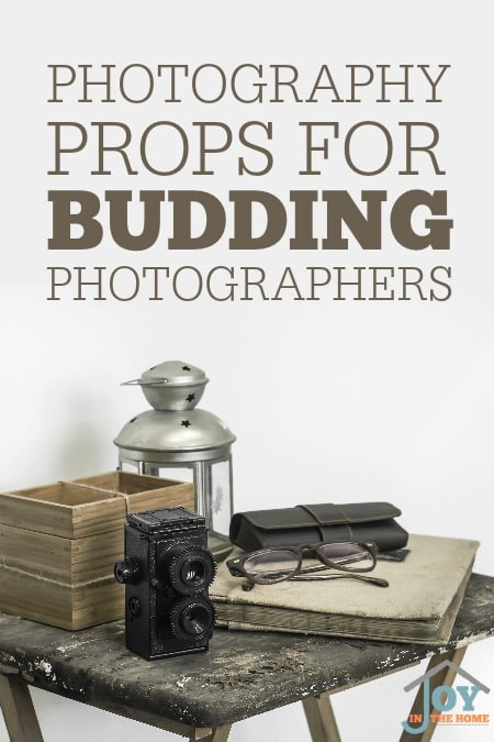 Photography Props For Budding Photographers - A few key things for a budding photographer to get inspiration to be creative is all they need. | www.joyinthehome.com