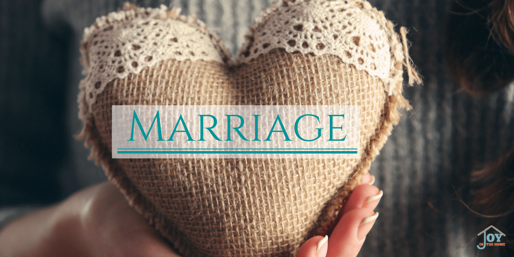Marriage - Learning how to love and respect through the struggles and difficulties   www.joyinthehome.com